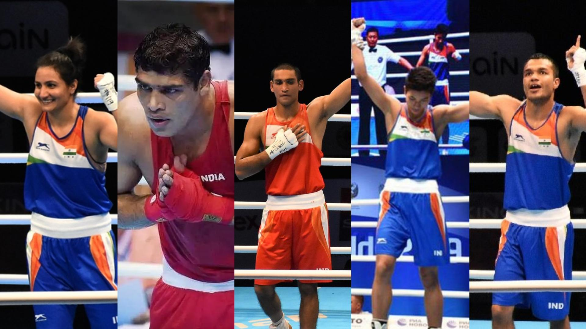 2020-Tokyo-Olympics-5-Indian-Boxers