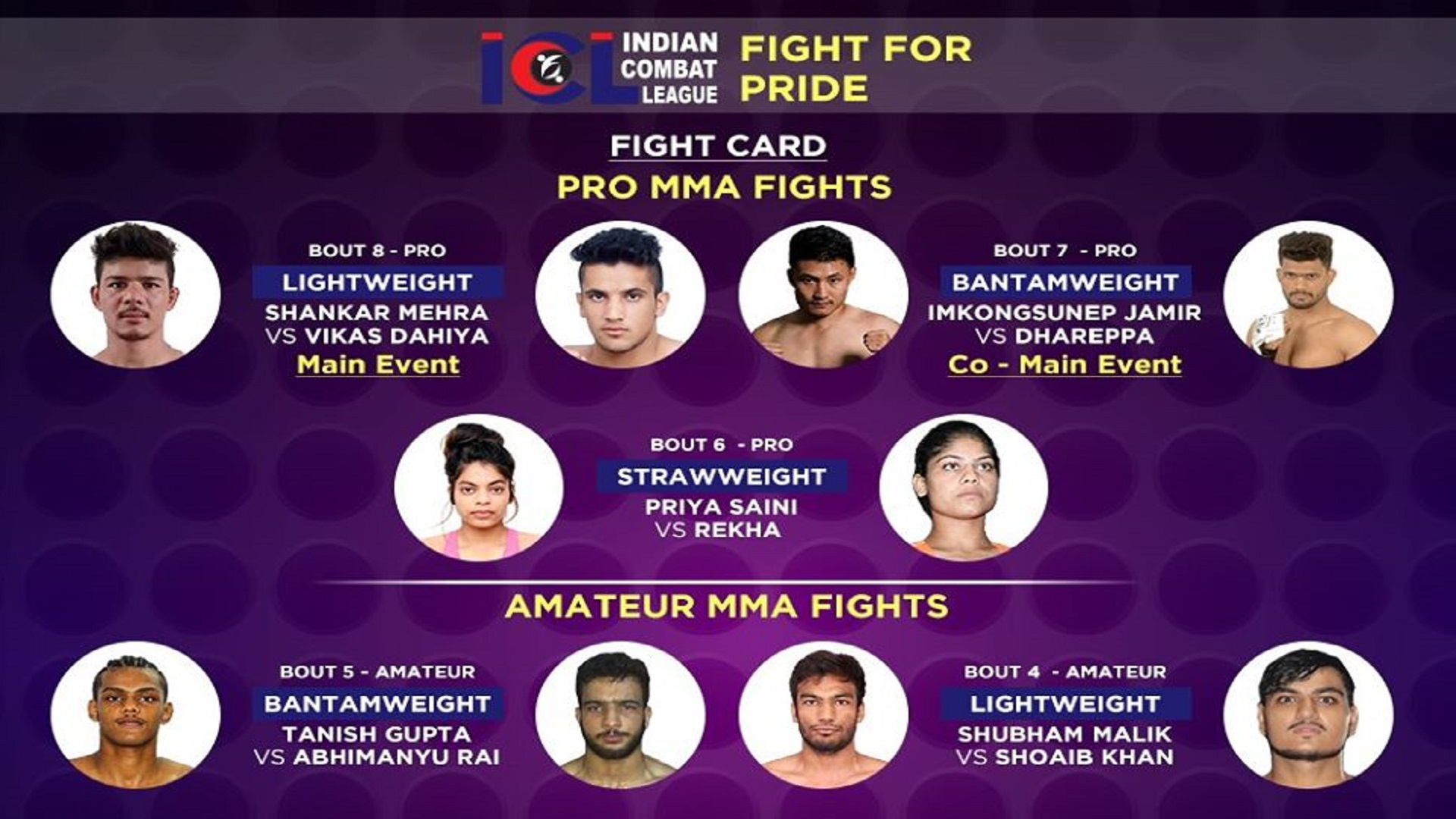 ICL-Full-Fight-Card-For-The-Event