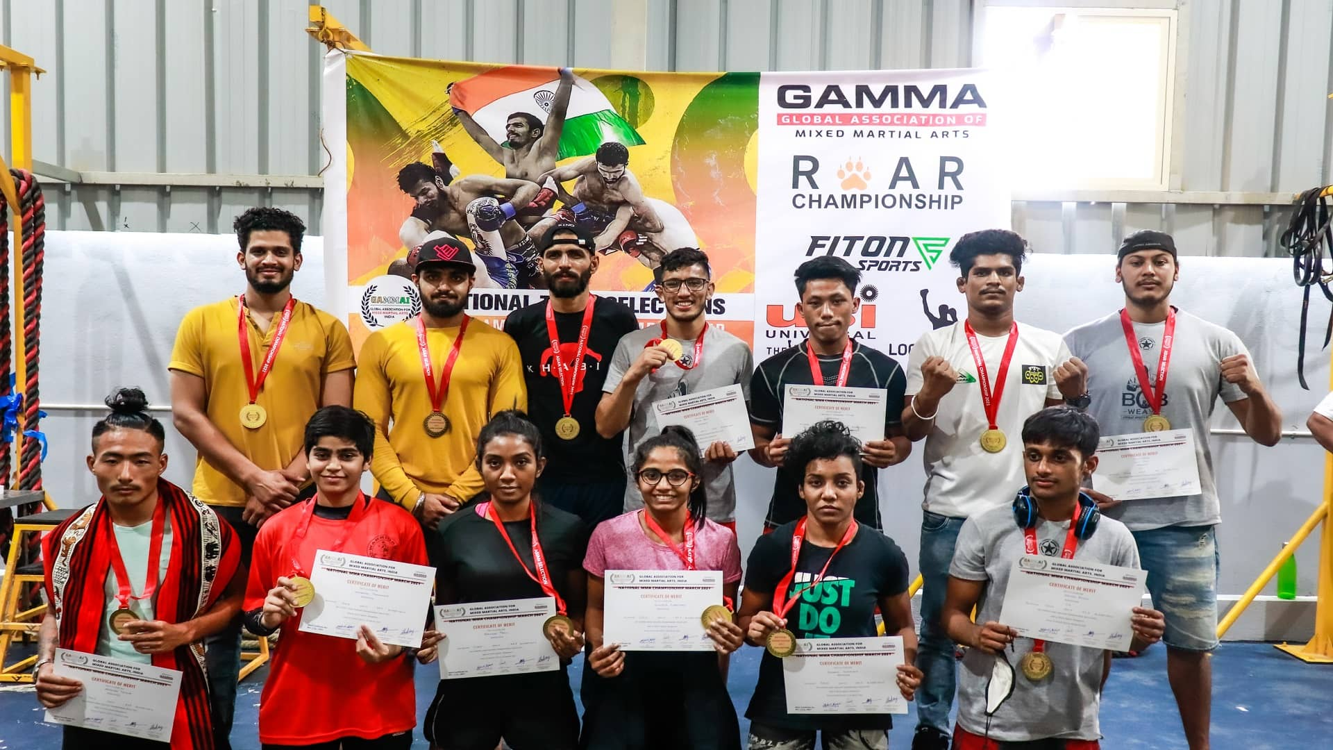GAMMA-India-MMA-National-2021-Results