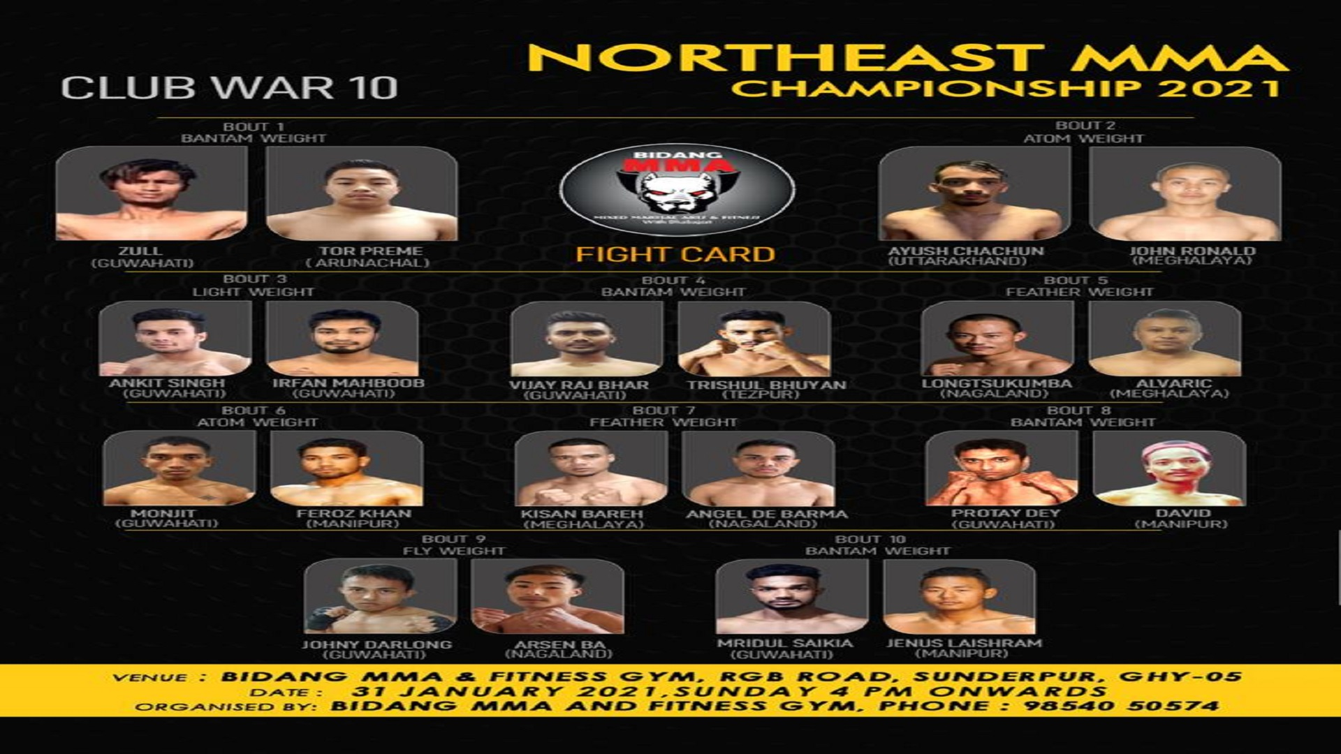 https://lockerroom.in/blog/view/Bidang-Club-War-10-Full-Fight-Card