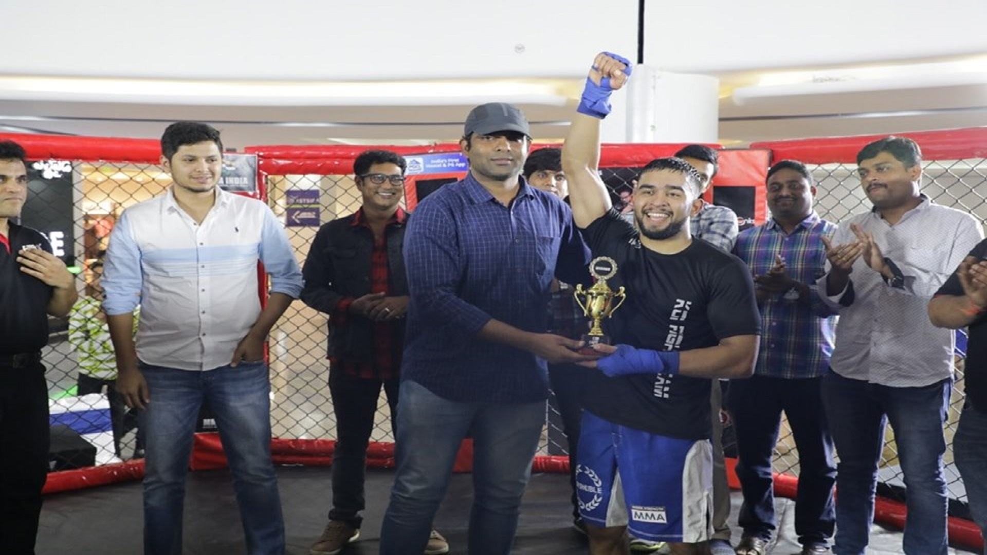 Hyderabad Fight Night Results: Tribhuvan Issar takes the main event