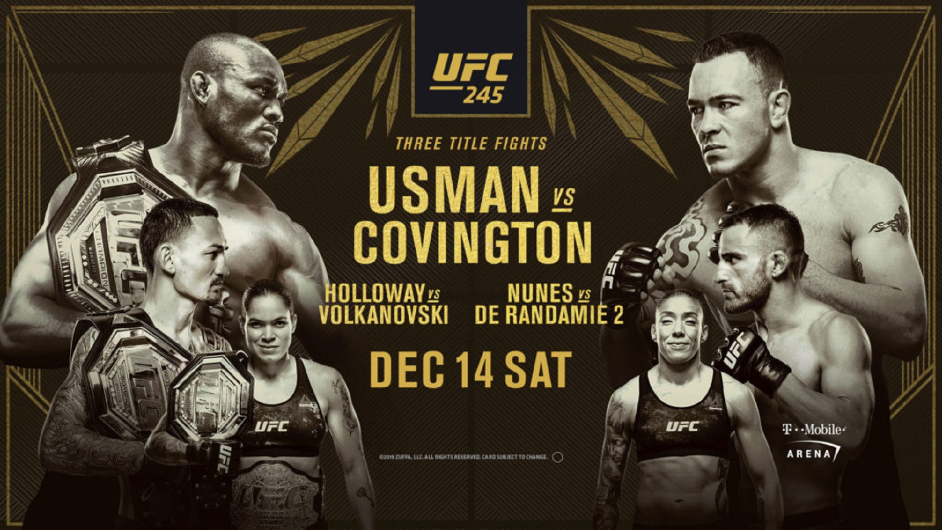 UFC-245-India-Timings