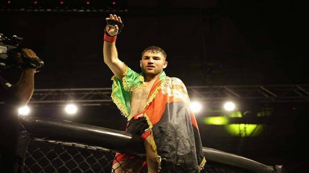 Afghan-MMA-Fighter-Farhad-Hazratzada-India
