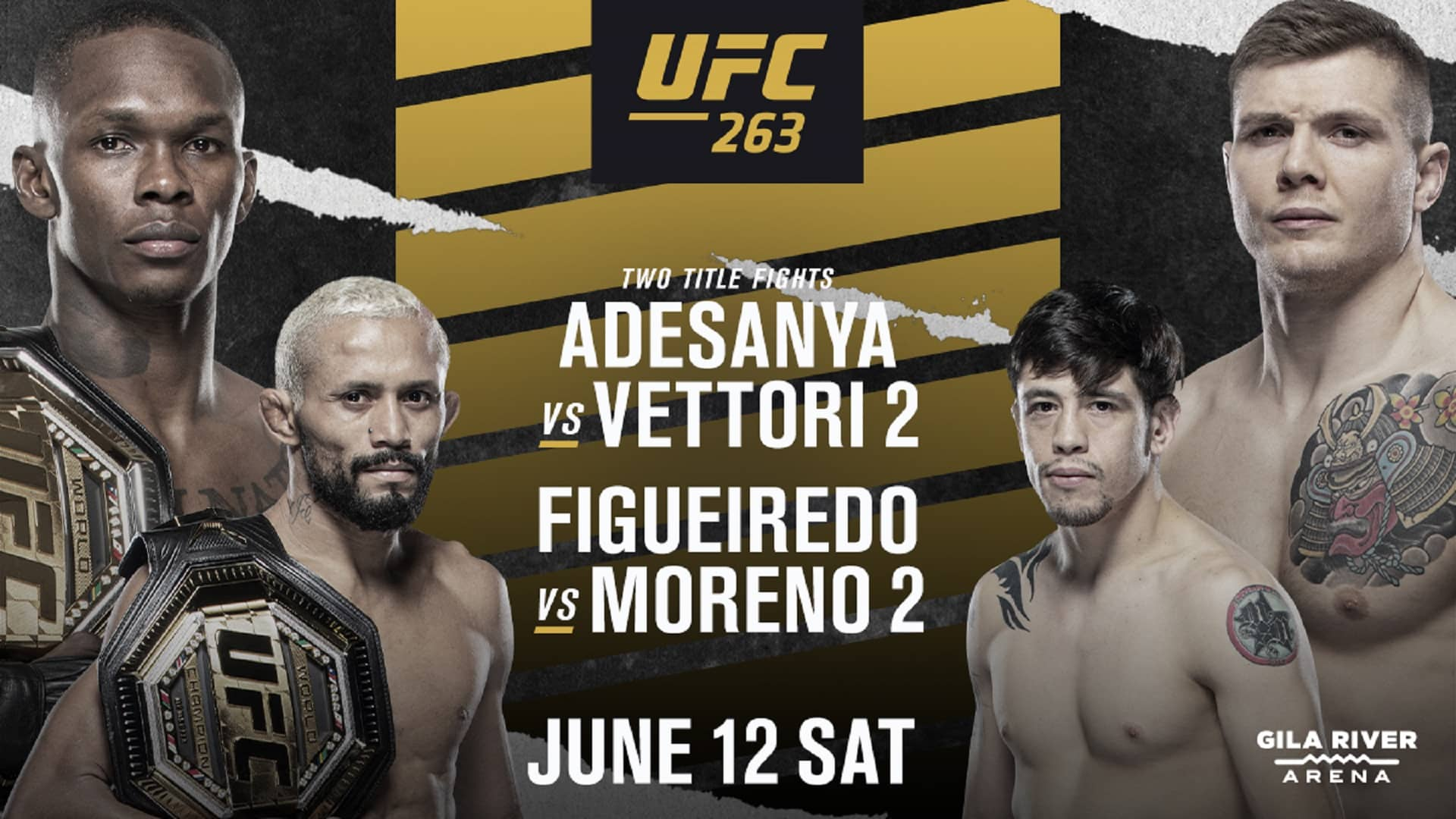 UFC 263: Adesanya vs. Vettori: Everything you need to know about the event