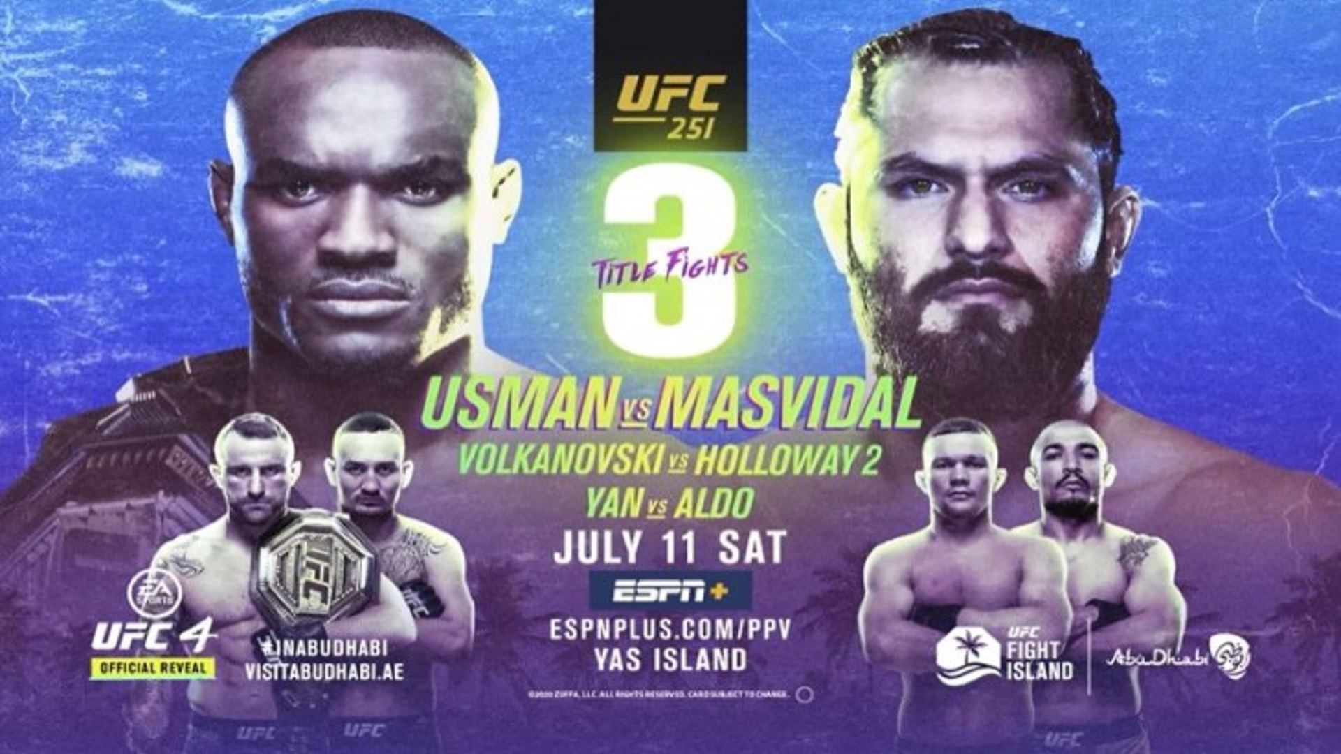 UFC-251-India-Time-UFC-Fight-Island